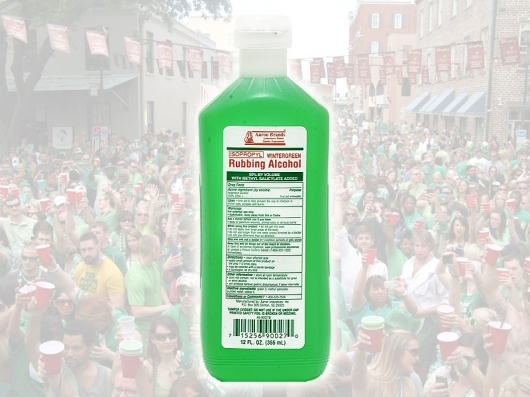 Medical Myth Buster: Green Alcohol for Foot Pain!?