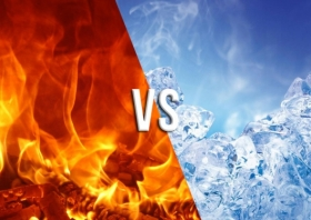 Hot vs. Cold for Injuries