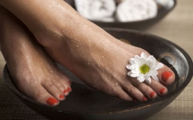 Pamper Feet In The New Year