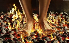 A Common Cause of Burning Feet