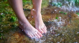 Summer Water Fun and Your Feet