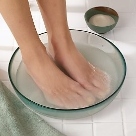 Soaking vs. Lotion for your FEET!
